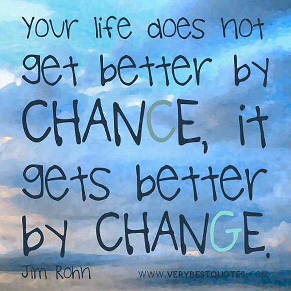 Quote About Changes In Life: Things We Should Do More Often In Life